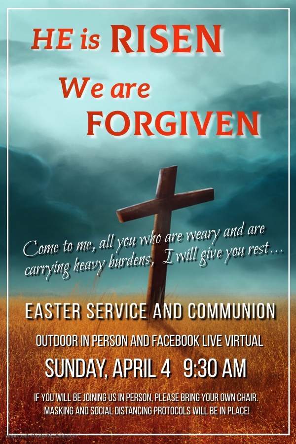Easter Service at Geneva Presbyterian in Modesto, CA